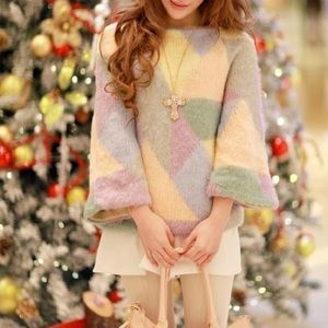 💝Lily Brown💝 sweater~ light spring color